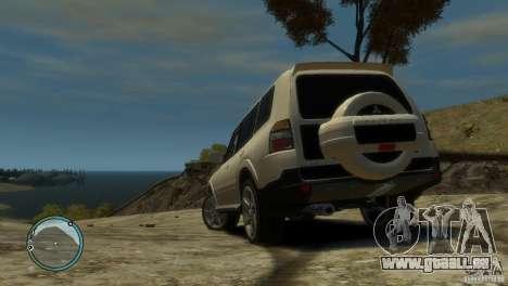 Mitsubishi Pajero Wagon pour GTA 4 Vue arrière de la gauche
