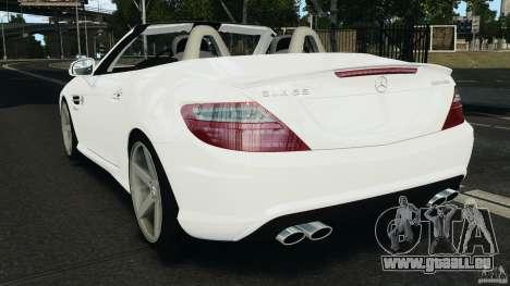 Mercedes-Benz SLK 2012 v1.0 [RIV] pour GTA 4 Vue arrière de la gauche