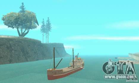 Steam Freighter pour GTA San Andreas