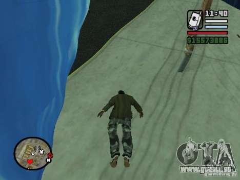 Tsunami pour GTA San Andreas quatrième écran