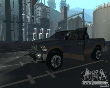 Dodge Ram Hemi pour GTA San Andreas laissé vue
