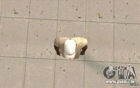Casquette honda pour GTA San Andreas troisième écran
