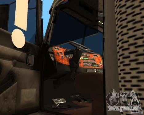 Western Star 4900EX v 0.1 pour GTA San Andreas vue de droite