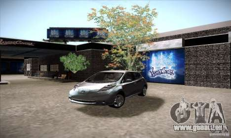 Nissan Leaf 2011 für GTA San Andreas