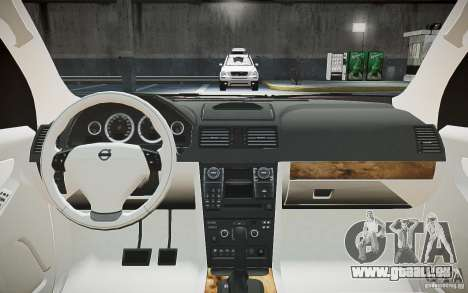 Volvo XC 90 pour GTA 4 vue de dessus