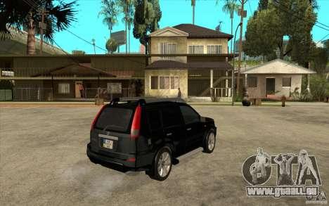 Nissan X-Trail 2001-2007 für GTA San Andreas rechten Ansicht