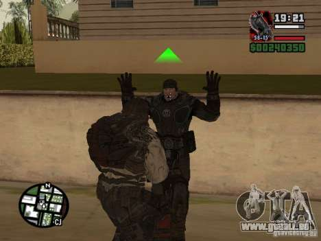 Lokast-Grunt von Gears of War 2 für GTA San Andreas her Screenshot