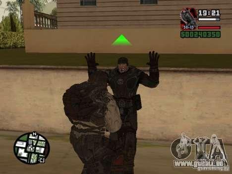 Lokast-Grunt von Gears of War 2 für GTA San Andreas her Screenshot