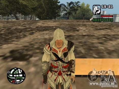 Ezio Auditores de Firenze für GTA San Andreas