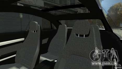 Mercedes-Benz E 500 Coupe V2 pour GTA 4 est une vue de dessous