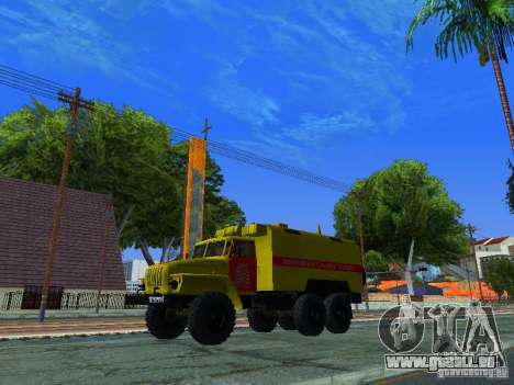 Ural 4320-GORSVET für GTA San Andreas