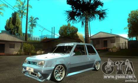 Renault 5 Tuned pour GTA San Andreas