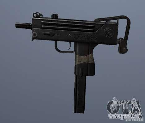 MAC10 pour GTA San Andreas troisième écran