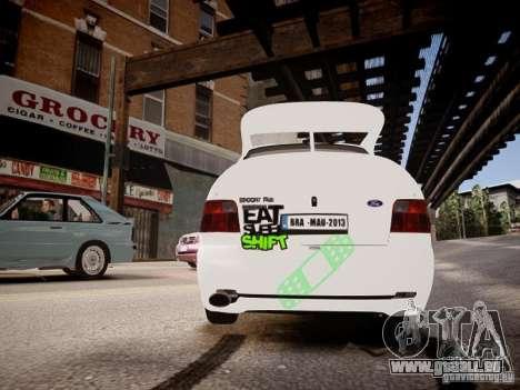 Ford Escort RS Cosworth 1992 pour GTA 4 est un droit