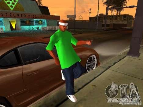 Neue Familie für GTA San Andreas zweiten Screenshot