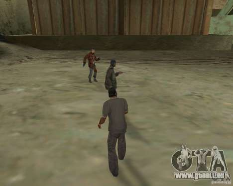 Barney Obdachlose für GTA San Andreas dritten Screenshot