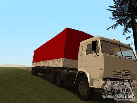 NefAZ 93344 trailer für GTA San Andreas zurück linke Ansicht