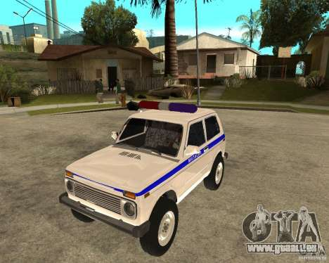 VAZ 2121 Police pour GTA San Andreas