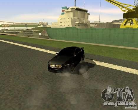 BMW M6 für GTA San Andreas rechten Ansicht