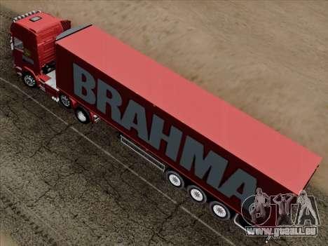 Scania R620 Brahma für GTA San Andreas Innen