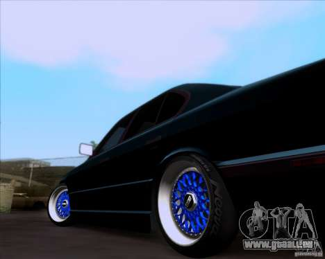 BMW 5-er E34 für GTA San Andreas Rückansicht