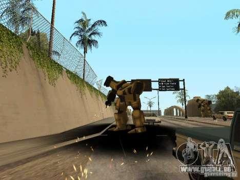 Transformateurs pour GTA San Andreas troisième écran