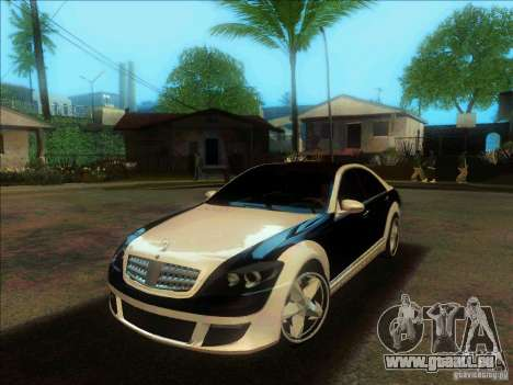 Mercedes-Benz S600 AMG WCC Edition pour GTA San Andreas