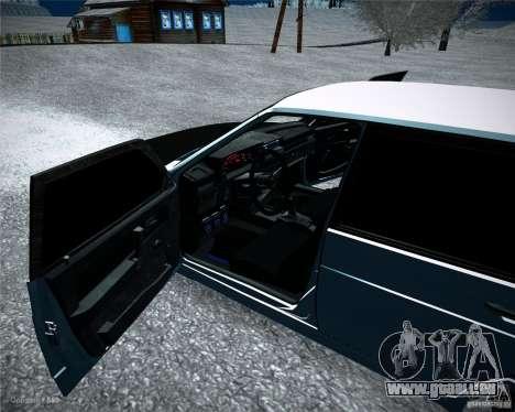 VAZ 2109 Tuning für GTA San Andreas Rückansicht