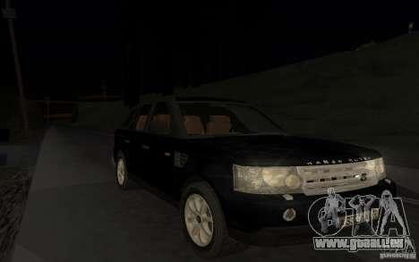 Land Rover Range Rover pour GTA San Andreas vue de côté