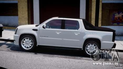 Cadillac Escalade Ext für GTA 4 Rückansicht