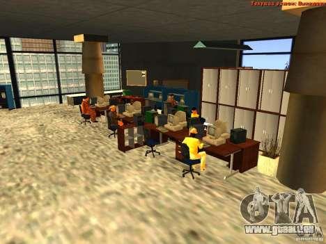 20th floor Mod V2 (Real Office) für GTA San Andreas her Screenshot