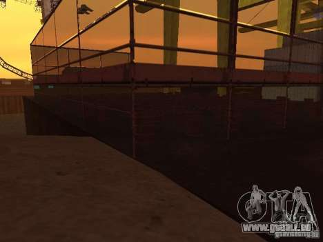 Huge MonsterTruck Track pour GTA San Andreas