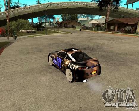 Mitsubishi Eclipse RZ 1998 pour GTA San Andreas laissé vue