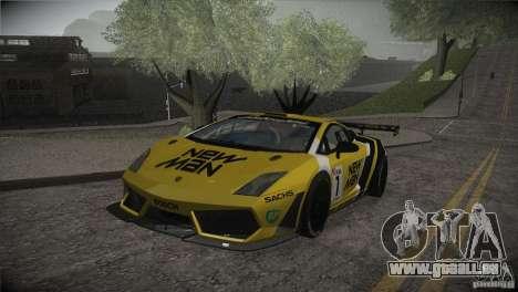 Lamborghini Gallardo LP560-4 GT3 für GTA San Andreas Motor