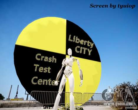 Crash Test Dummy pour GTA 4