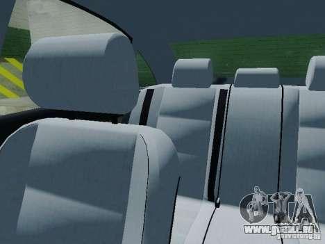 Audi A6 Police pour GTA San Andreas vue de dessus
