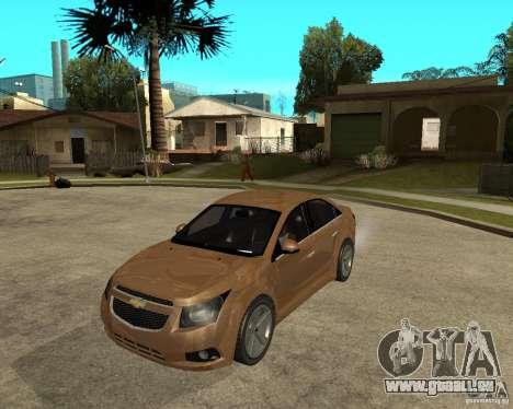 Chevrolet Cruze für GTA San Andreas