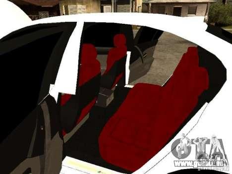 Bmw M5 Ls Ninja Stiil für GTA San Andreas Innenansicht