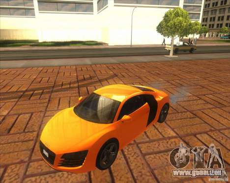 Audi R8 2007 pour GTA San Andreas