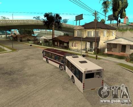 LIAZ 6213.20 pour GTA San Andreas laissé vue