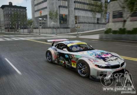 BMW Z4 GT3 2010 V.2.0 pour GTA 4 est un droit