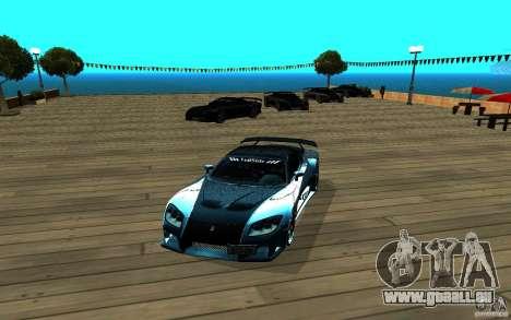 ENB pour n'importe quel ordinateur pour GTA San Andreas troisième écran