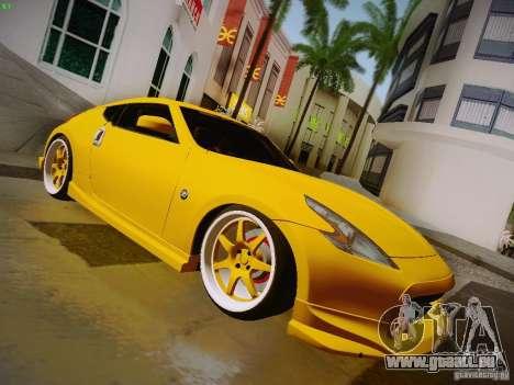Nissan 370Z Fatlace pour GTA San Andreas vue de droite