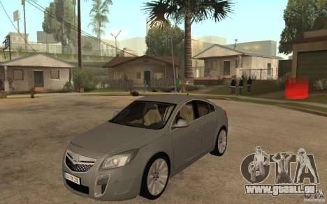 Opel Insignia 2010 pour GTA San Andreas