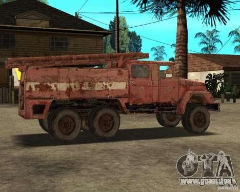 ZIL 131 für GTA San Andreas rechten Ansicht