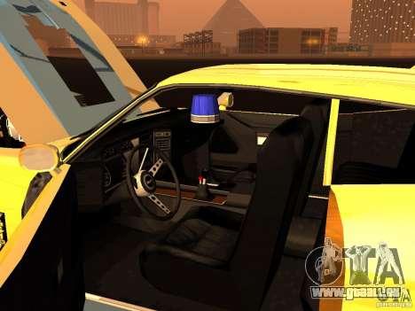 Ford Falcon XB Coupe Interceptor für GTA San Andreas Innenansicht