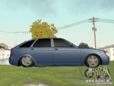 LADA 2170 Hatchback pour GTA San Andreas sur la vue arrière gauche