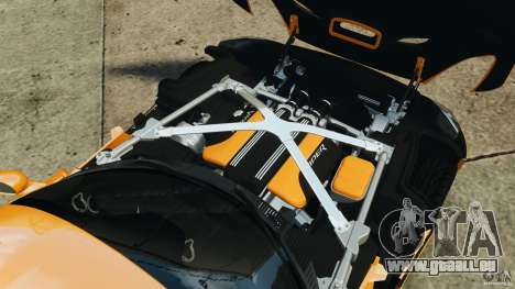 SRT Viper GTS 2013 für GTA 4 obere Ansicht