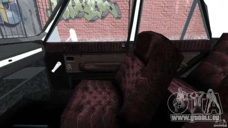 Peykan 1348 1970 pour GTA 4 est une vue de l'intérieur