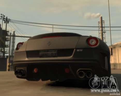 Ferrari 599 GTO für GTA 4 hinten links Ansicht